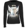 KITTEN ANGEL - Baggy Top Black S was $65 now $35