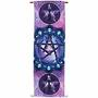 Banner – Pentacle Print on French Crepe