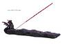 Purple Crystal Dragon Incense Holder