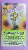 Sunflower Angel Brooch