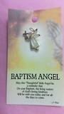 Baptism Angel Brooch