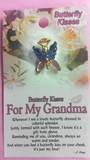 For My Grandma Angel Brooch