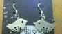 Silver Bird Hook Earrings