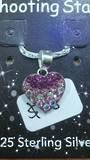 Crystal Evolution Pink Heart Pendant