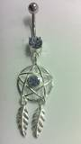 Lilac Star Dreamcatcher Belly Bar