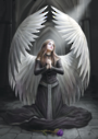 3D Anne Stokes Prayer for the Fallen