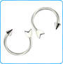 Arrow Horseshoe 16g 8mm