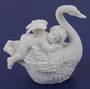 Cherub on Swan (legs down)