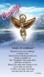 Courage Angel Pin