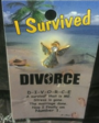 Thoughtful Angel I Survived Divorce Angel Pin