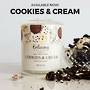 Cookies and Cream Ring Candle