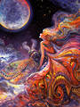 Josephine Wall - Fly Me to the Moon