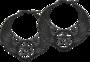 Winged Pentagram Earrings