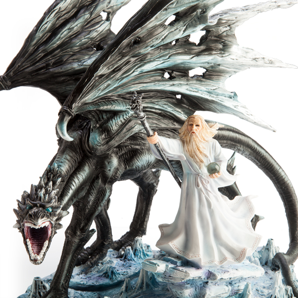 White Wizard with Black Dragon1
