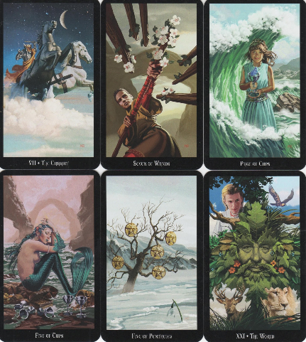 Witches Tarot 1-565