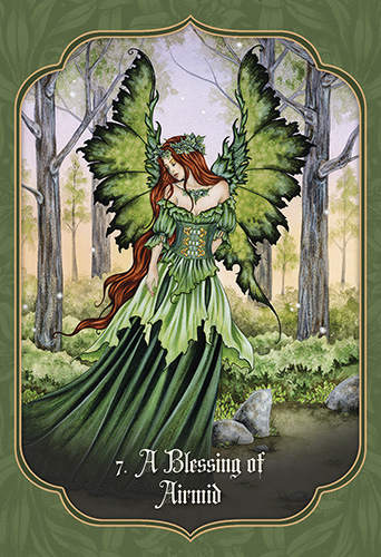 faery blessing cards sample 2