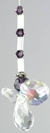 Crystal Angel Small Purple was $13 now $7