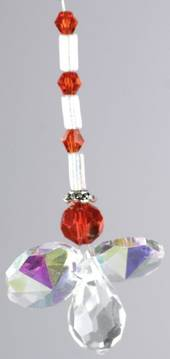 Crystal Angel Small Red was $13 now $7