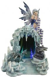 Fairy with 2 Dragons and LED Infinity Cave was $220 now $125