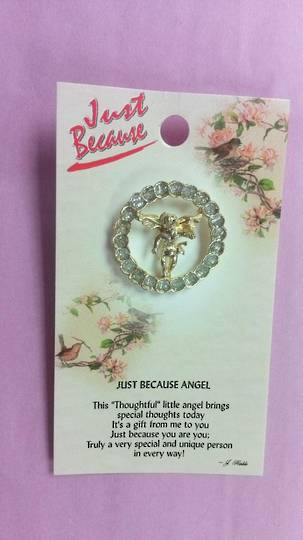 Just Because Angel Pin