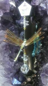 Gold DragonFly Suncatcher was $40 now $30.00