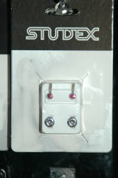 Studex silver october studs regular