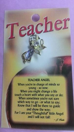 Teacher Angel Brooch