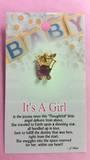 Its A Girl Angel Brooch