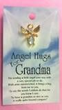 Angel Hugs For Grandma Brooch